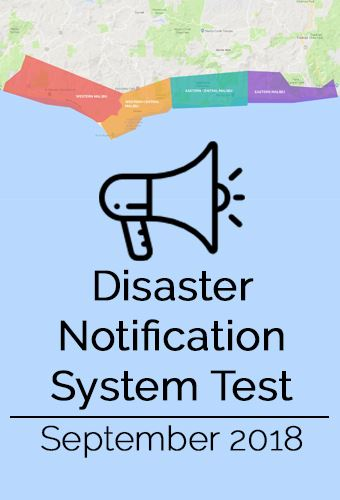 Disaster Notification Test