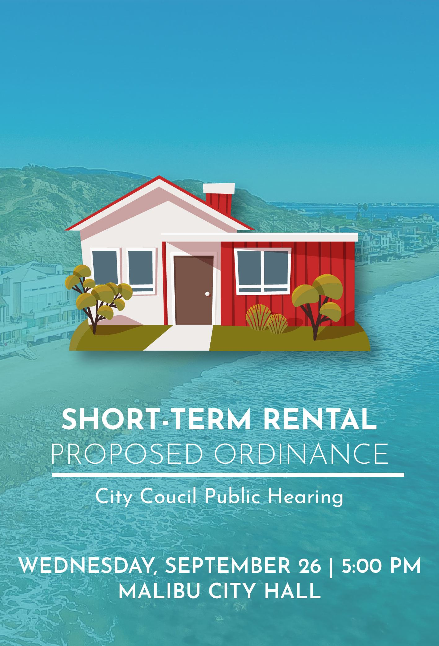 Short Term Rental Ordinance Hearing