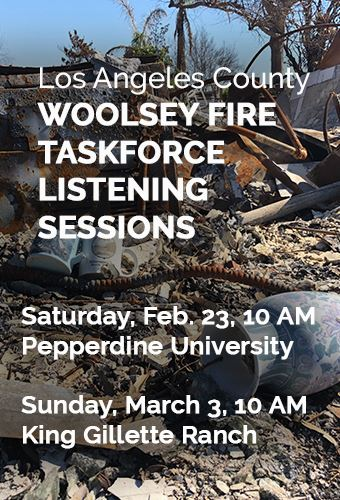 Woolsey Fire Taskforce
