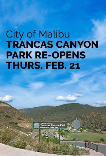 Trancas Canyon Park Reopens