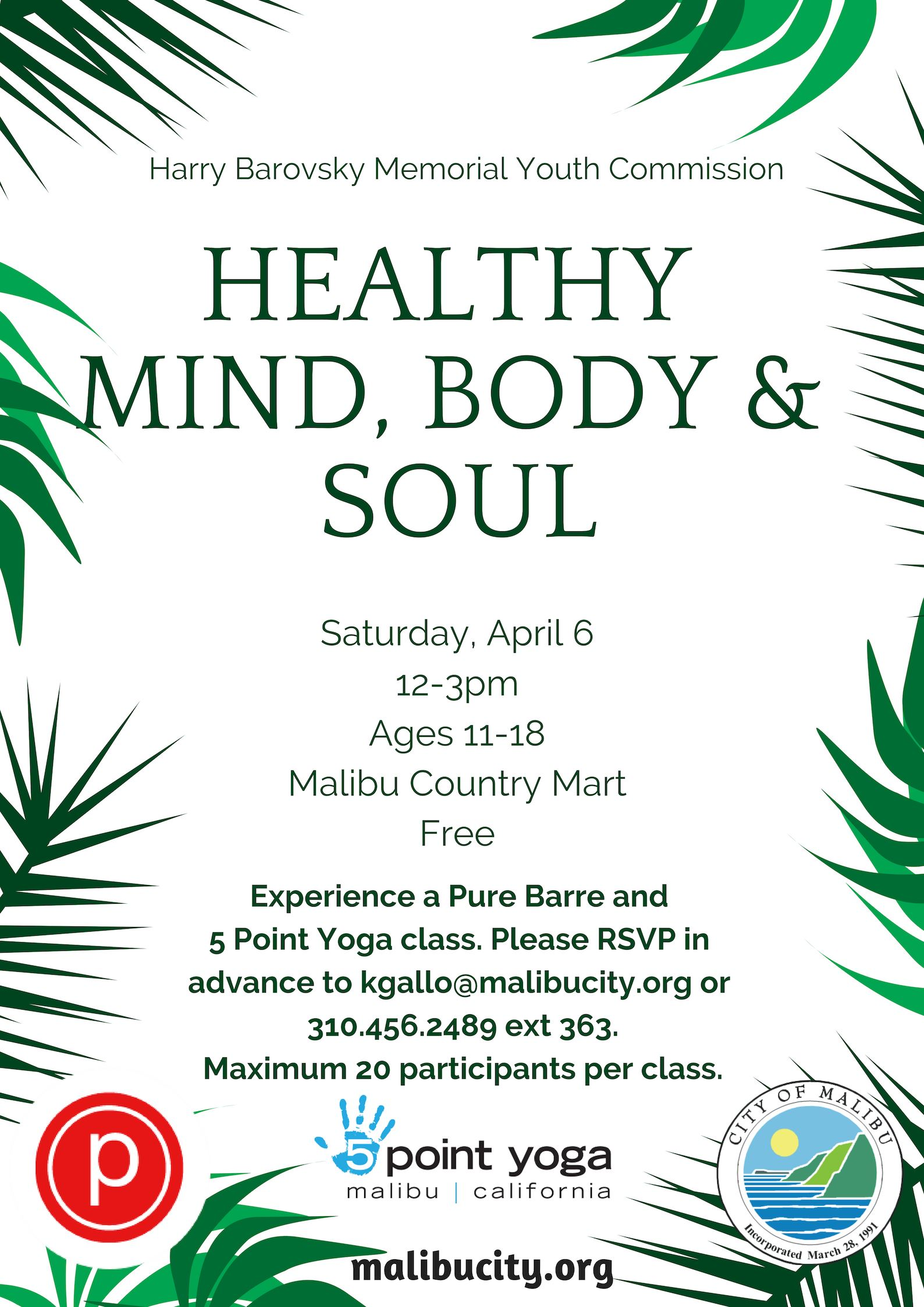 Healthy Mind Body Soul 2019