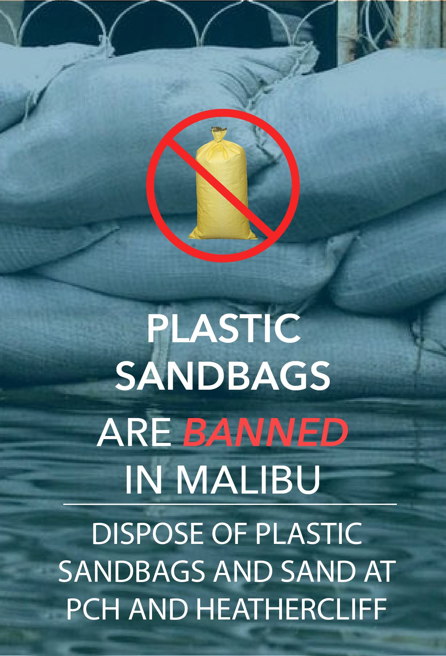 Sandbag Disposal