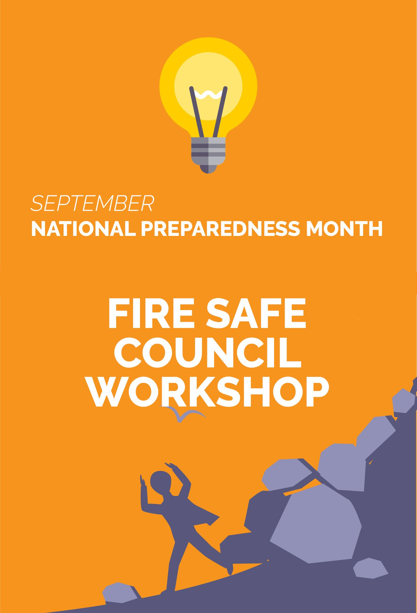 National Preparedness Month Fire Safe Council Workshop Newsflash