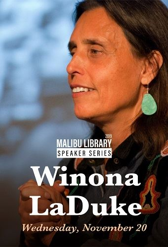 Winona LaDuke Newsflash