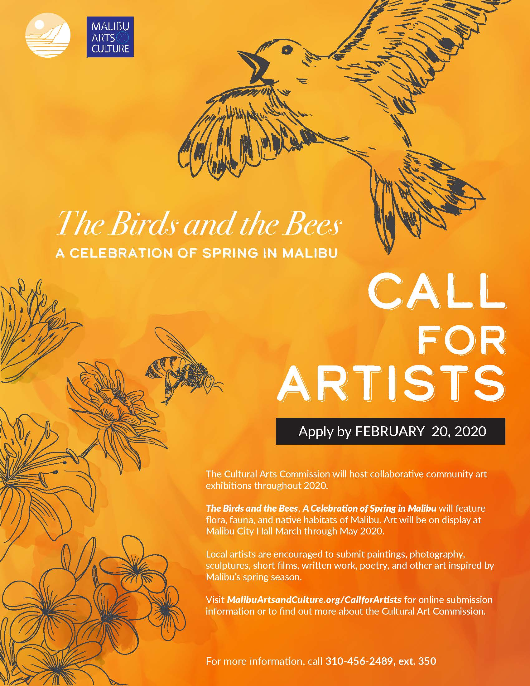 2020 Spring Call to Artists