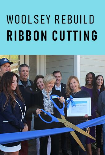 Woolsey Rebuild Ribbon Cutting