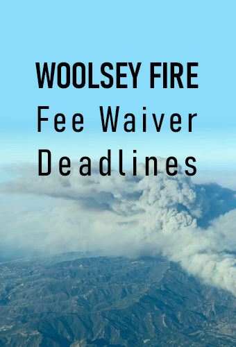 fee waiver deadlines newsflash