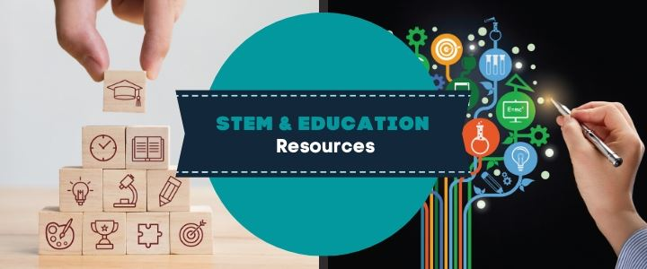 STEM and Education Banner