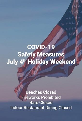 July 4 closures newsflash