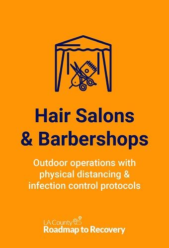 Salon reopening protocols 7.22.20