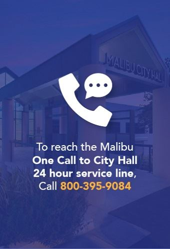 One call to Malibu newsflash