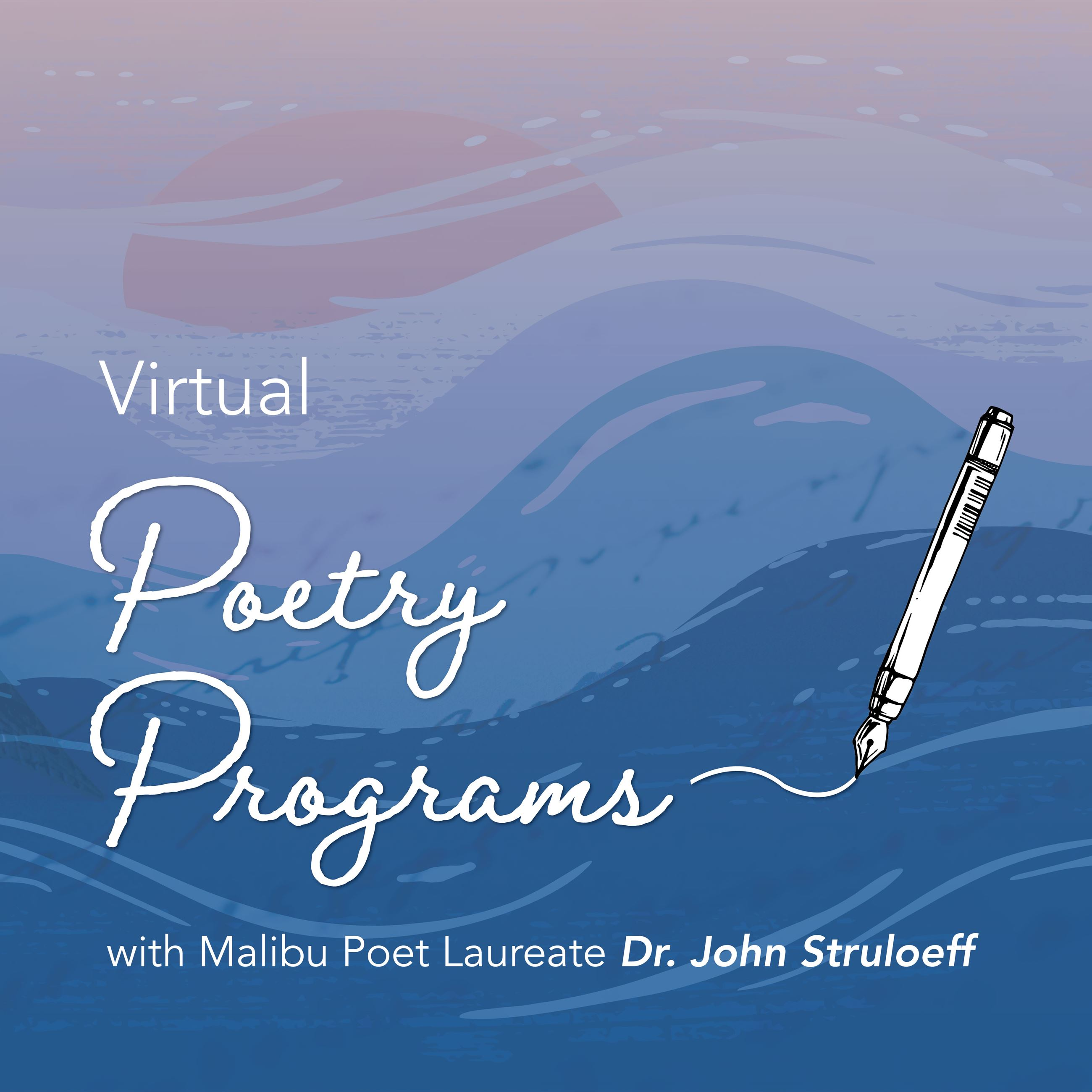 Virtual Poetry Programs October to December 2020