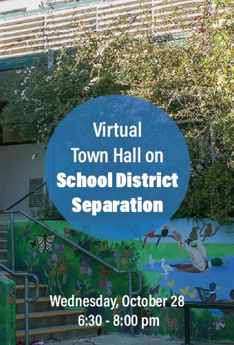 School Separation Town Hall - 10-28-20