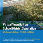 Virtual Town Hall October 28