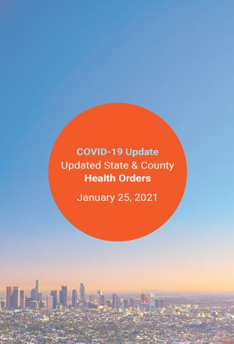 Jan 25 State & County COVID-19 Orders Update