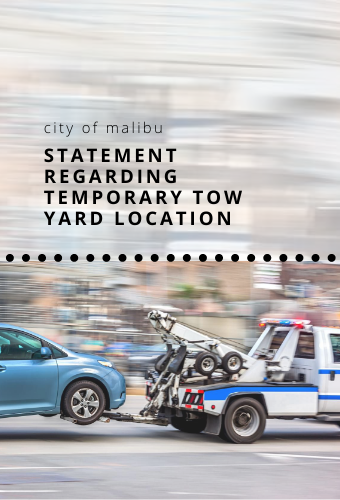 tow yard statement newsflash