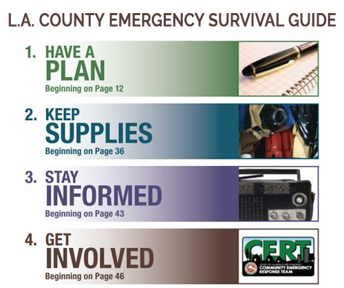 L.A. County Emergency Survival Guide