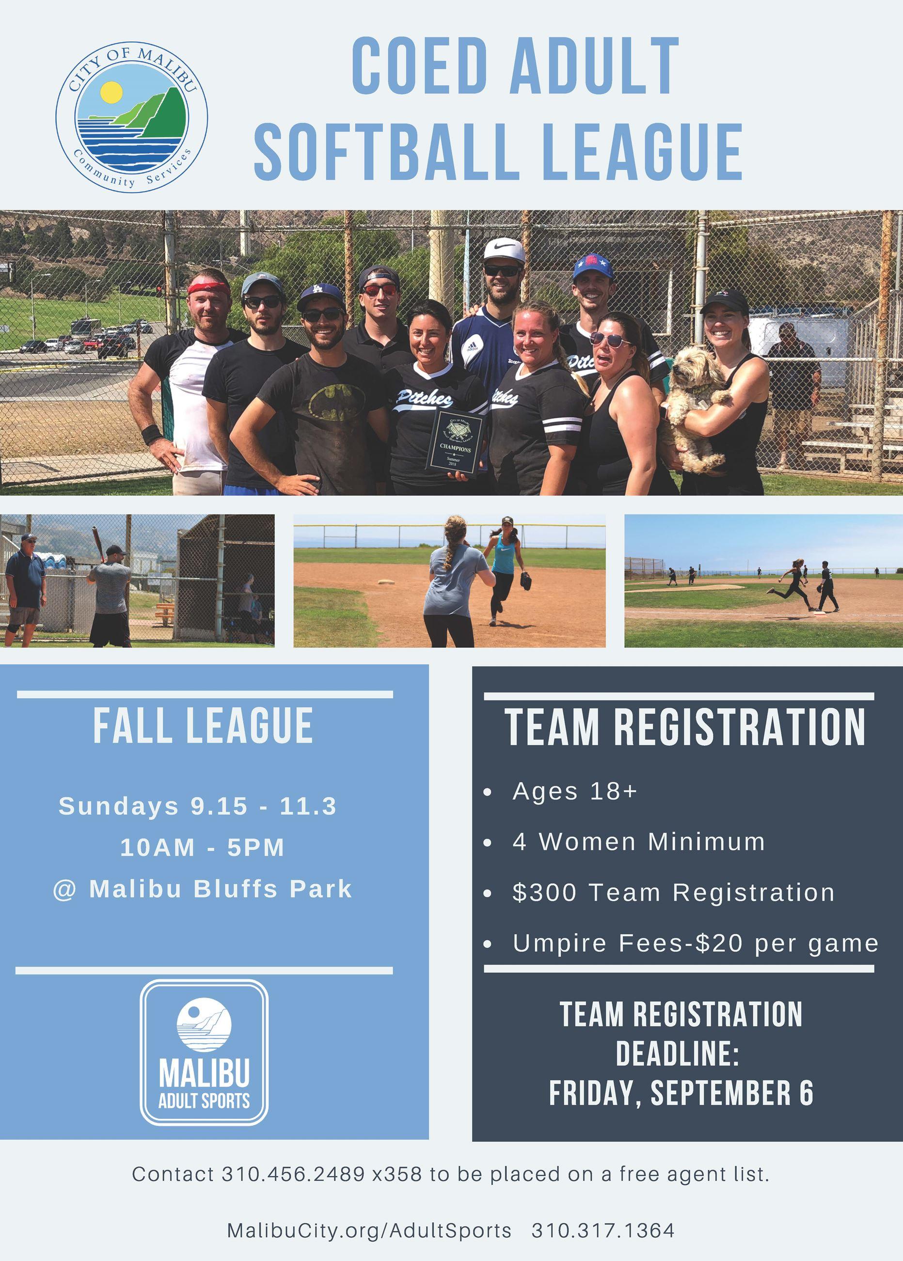 2019 Fall Softball