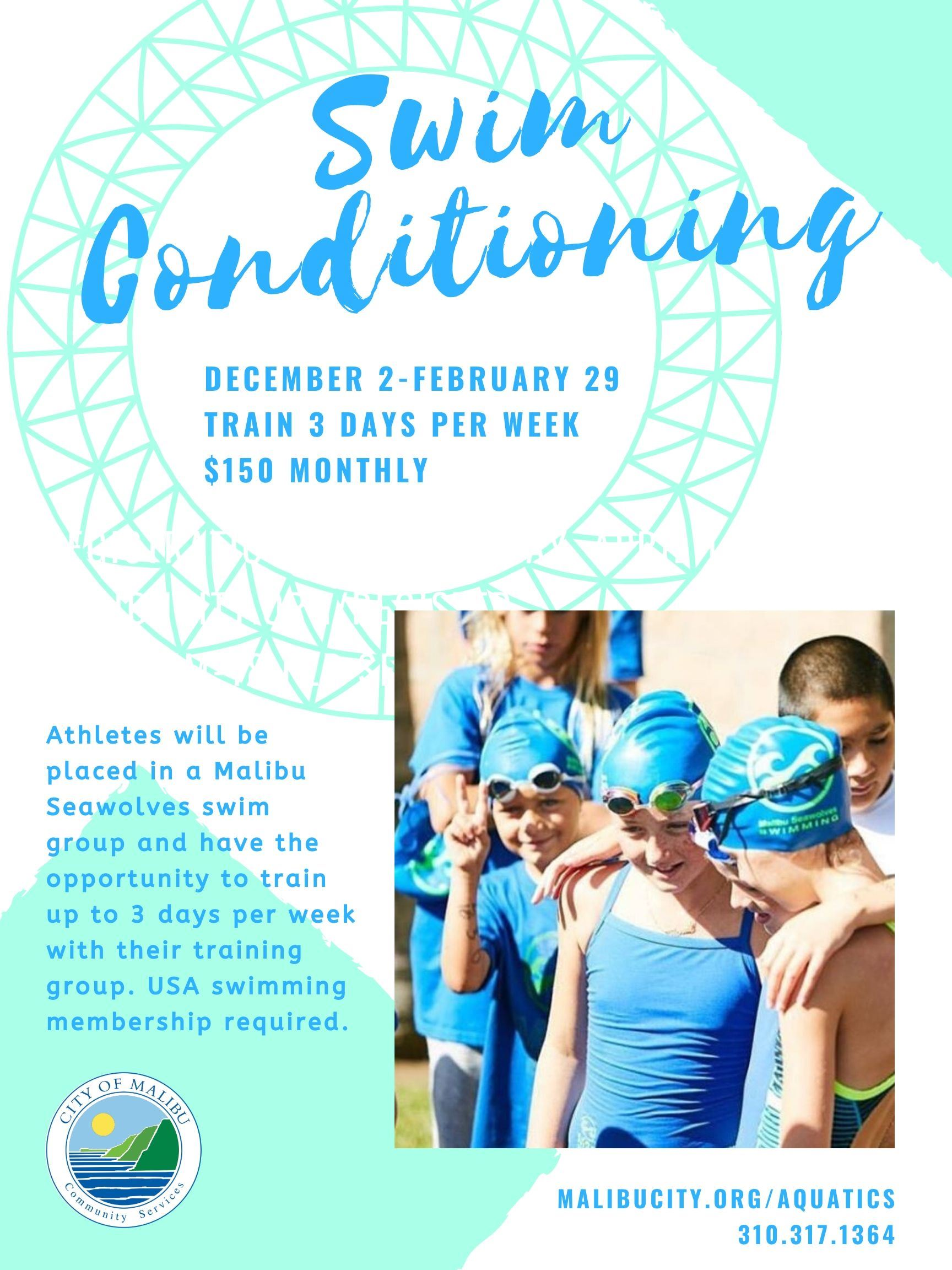 Winter 2019-2020 Swim Conditioning