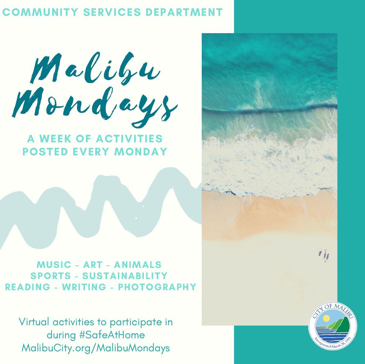 Malibu Mondays Website JPEG Image