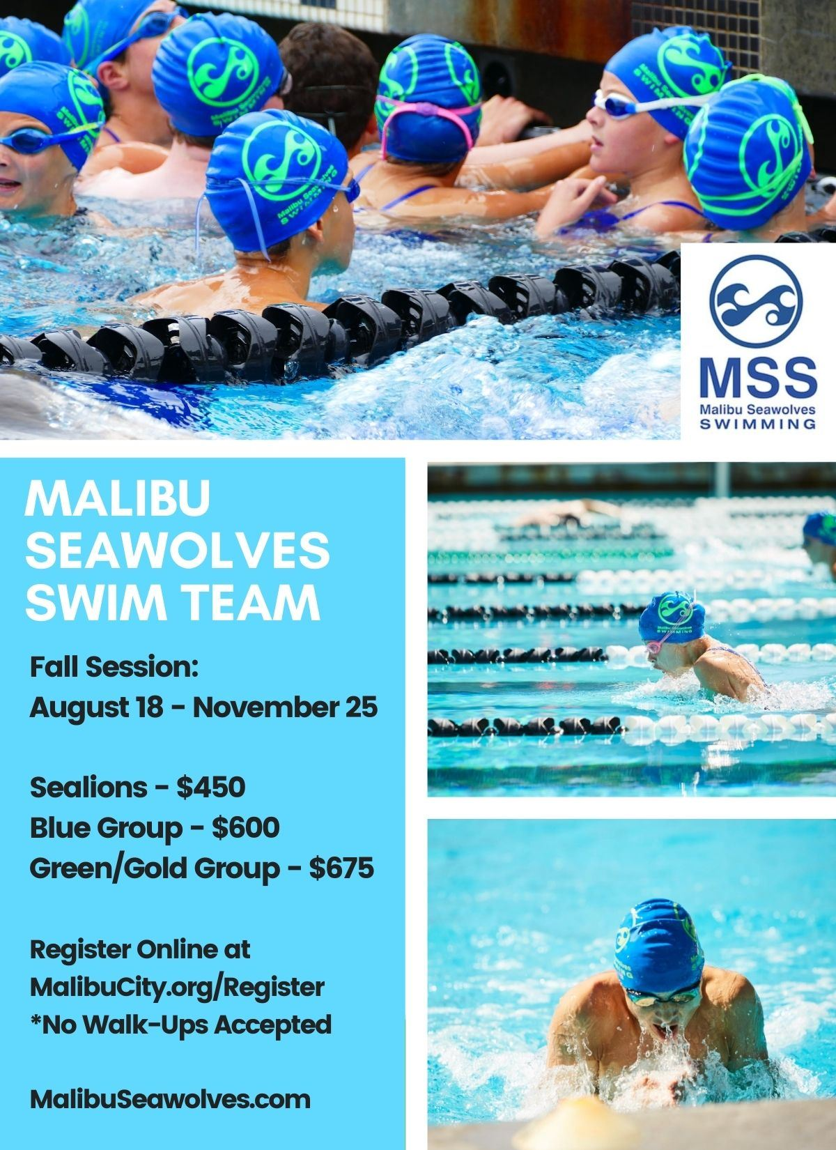 Malibu Seawolves Fall 2020