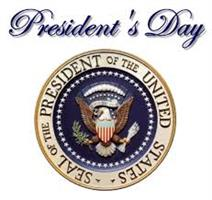 Presidents Day Holiday - February 20