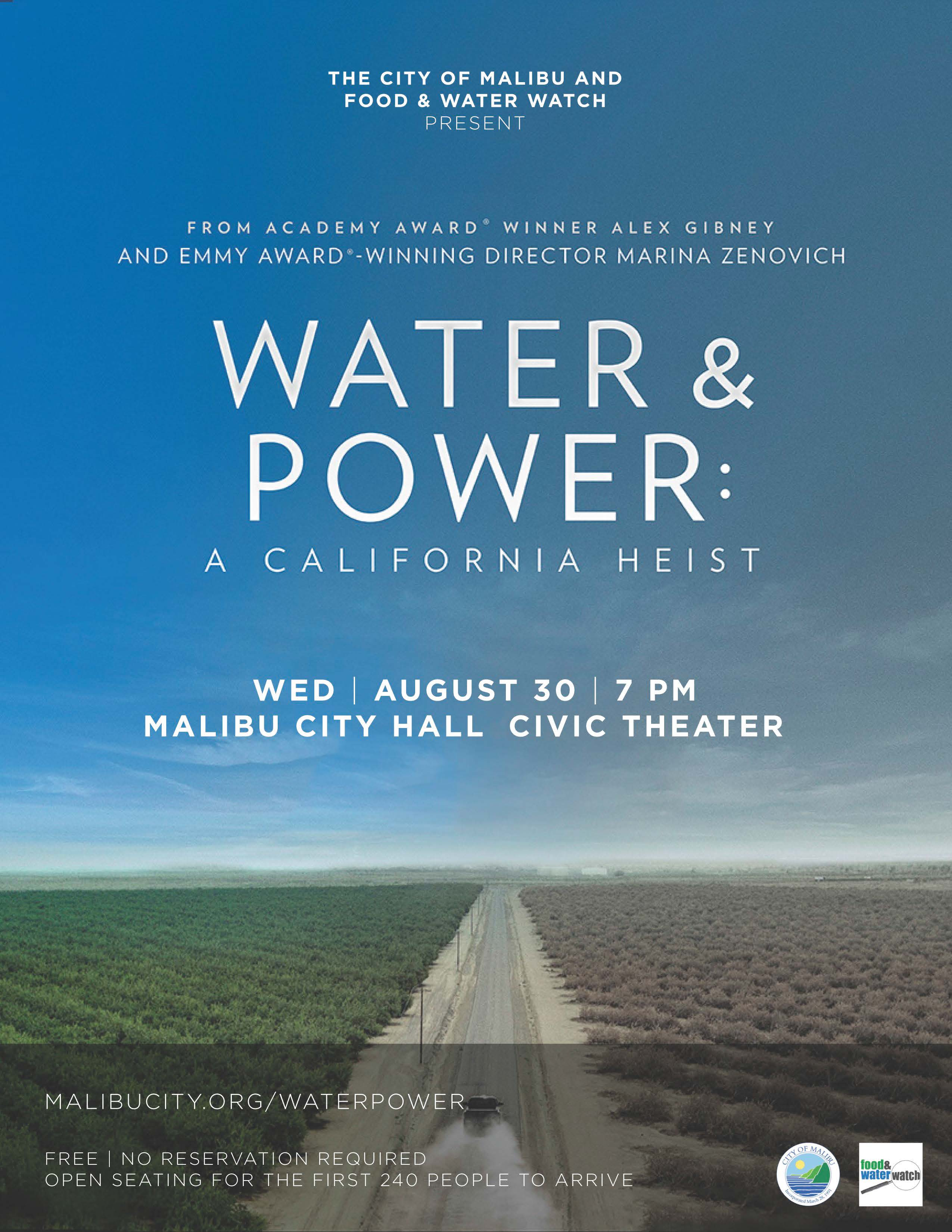Water power a california heist фильм 2018
