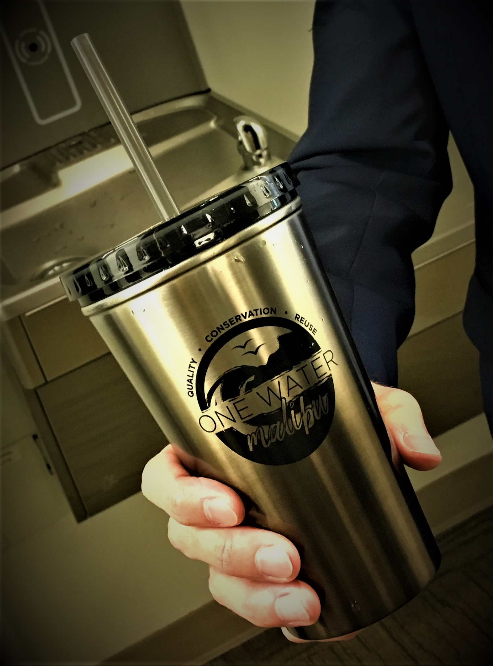 Steel Insulated Reusable Water Container