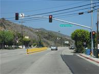 Corral Canyon Traffic Signal
