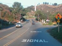Winter Canyon Traffic Signal