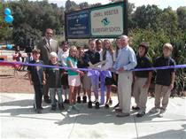 Ribbon Cutting at the New Winter Canyon Traffic Signal