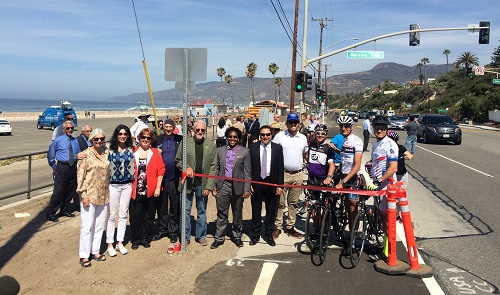 PCH Bike Route Ribbon Cutting
