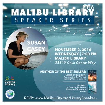 Susan Casey Library Speaker Series