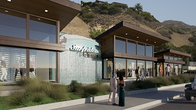 Surfrider Plaza Rendering